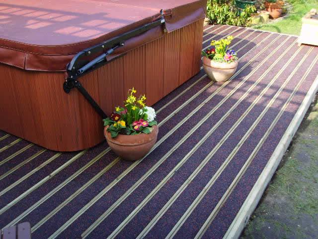 Allen Landscaping - Decking