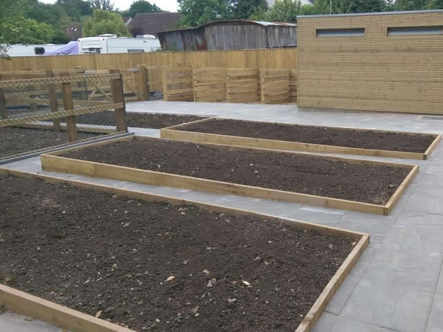Allen Landscaping - Raised Beds